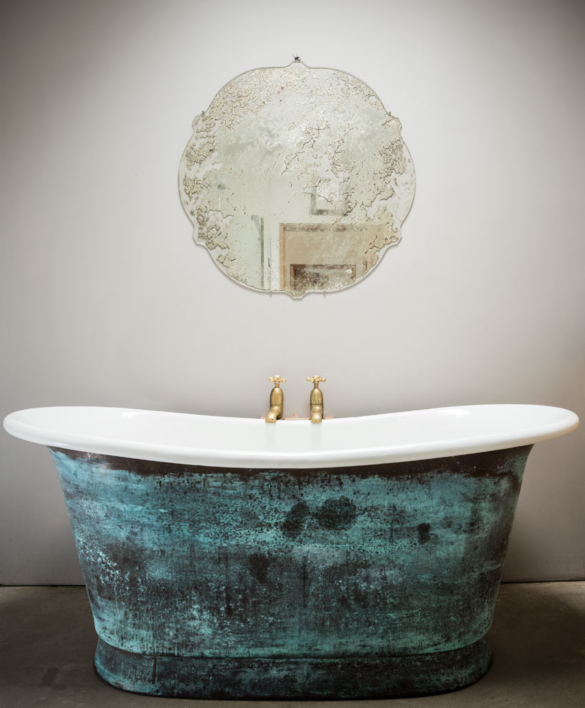 William Holland - The Verdigris Bateau Bath