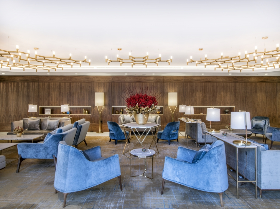 Living Lounge - Royal Lancaster London